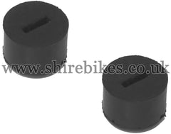 Honda Front Fuel Tank Slotted Grommets (Pair) suitable for use with Z50M, Z50A