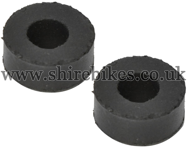 Honda Front Tank Mounting Rubbers (Pair) suitable for use with CZ100