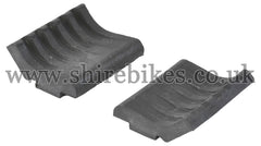 Honda Fuel Tank Bottom Rubbers (Pair) suitable for use with Dax 6V, Dax 12V