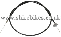 Honda Black Throttle Cable suitable for use with Dax 6V