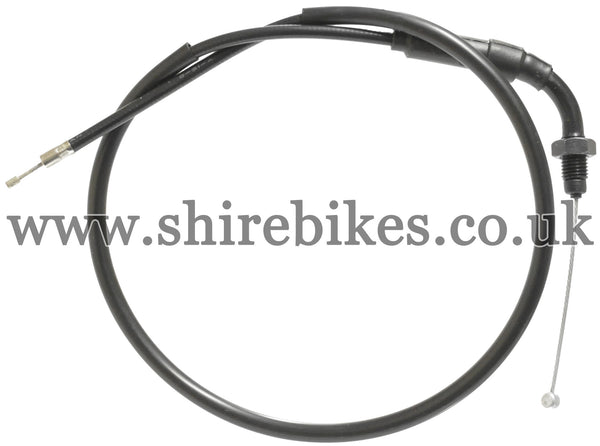 Honda Black Throttle Cable suitable for use with Z50R