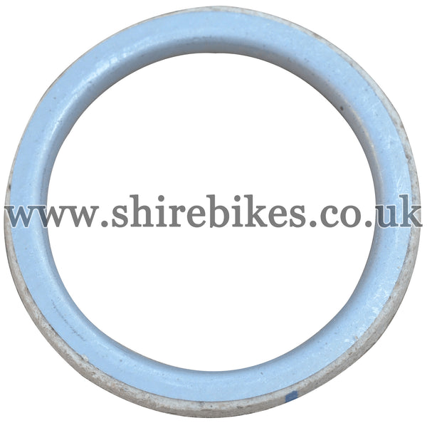 Honda 4mm Aluminium Exhaust Gasket suitable for use with CZ100, Z50M, Z50A, Z50J1, Z50R, Z50J, Dax 6V, Dax 12V, Chaly 6V, C90E