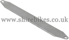 Reproduction Bare Metal Exhaust Muffler Heat Shield suitable for use with Z50A K1 & K2
