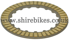 Honda Clutch Friction Plate (Both Sides with Friction Surface) suitable for use with CZ100, Z50M, Z50A, Z50J, Z50R, Z50J1, Dax 6V, Dax 12V, C90E
