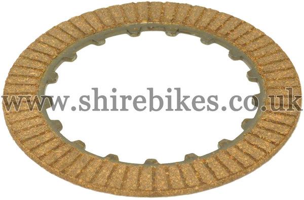 Honda Clutch Friction Plate (One Side with Friction Surface) suitable for use with Z50R, Chaly 6V, Dax 6V