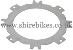 Honda Steel Clutch Plate suitable for use with CZ100, Z50M, Z50A, Z50R, Z50J1, Z50J, Dax 6V, Dax 12V, C90E