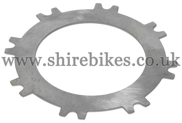 Honda Steel Clutch Plate suitable for use with CZ100, Z50M, Z50A, Z50R, Z50J1, Dax 6V, Dax 12V