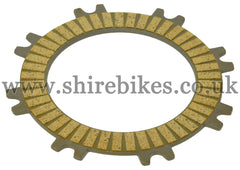 Honda Clutch Friction Plate (Both Sides with Friction Surface) suitable for use with Z50R, Dax 6V, Chaly 6V, C90E