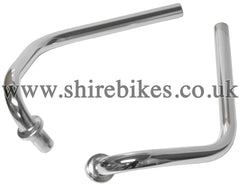 Honda Chrome Folding Handlebars (Pair) suitable for use with Z50J