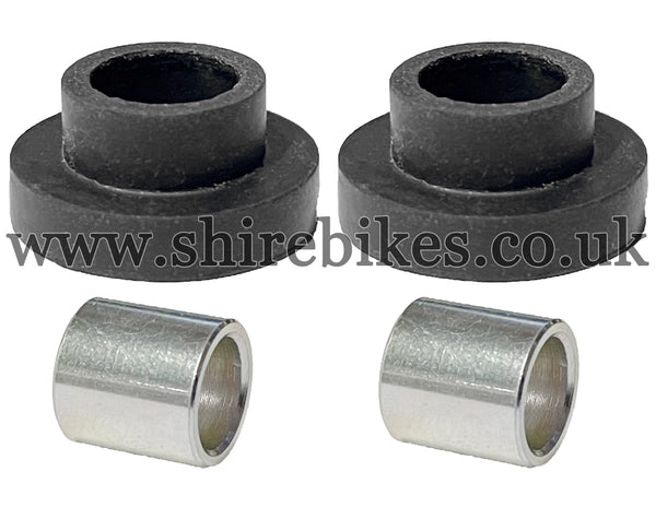 Honda Rear Bracket to Light Unit Fixing Rubber & Sleeve Set suitable for use with Dax 6V