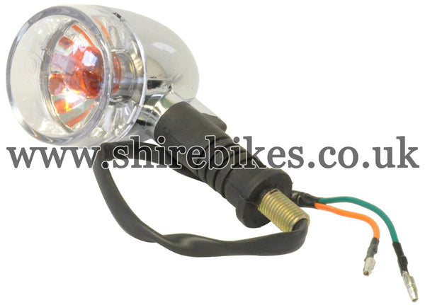 Zhen Hua 12V Clear Lens Indicator Light suitable for use with SR50, SR125 & Jincheng M50