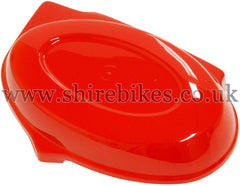 Reproduction Red Side Cover suitable for use with Monkey Bike Motorcycles