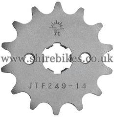 14T Front Sprocket suitable for use with MSX125 GROM