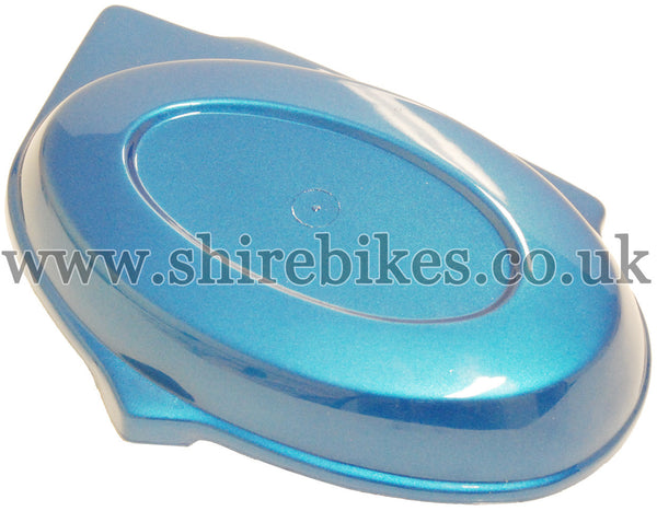 Reproduction Metallic Blue Side Cover suitable for use with Monkey Bike Motorcycles