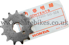 NOS Honda 13T (415 Chain) Front Sprocket suitable for use with Z50M