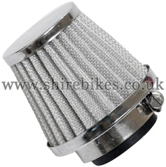 Custom 35mm Sports Cone Air Filter suitable for use with Monkey Bike Motorcycles