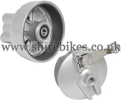 Zhen Hua Rear Hub & Brake Plate suitable for use with SR50, SR125 & Jincheng M50