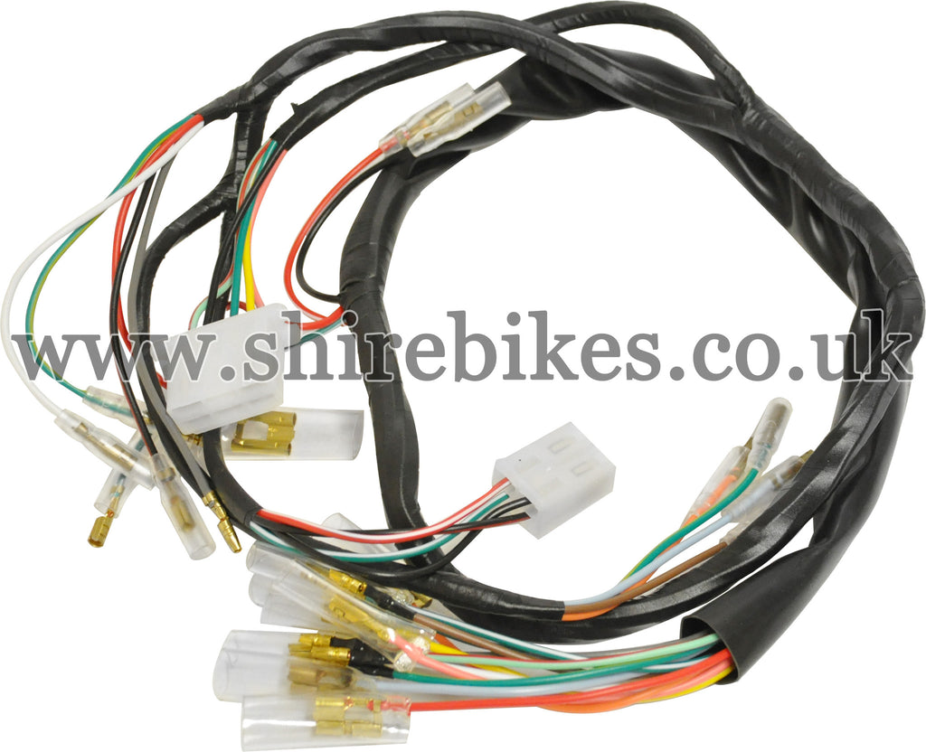 Reproduction Wiring Harness Wire Data Schema Automotive Loom Suitable For Use With St70 Dax 6v Rh Shirebikes Co Uk Trailer Truck