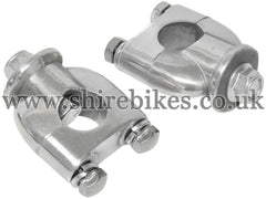 Standard Handlebar Risers (Pair) suitable for use with Monkey Bike Motorcycles