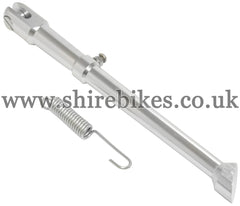 Custom (10 inch wheel) CNC Aluminium Side Stand suitable for use with Monkey Bike Motorcycles