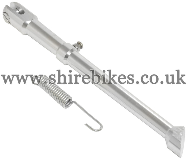 Custom (8 inch wheel) CNC Aluminium Side Stand suitable for use with Monkey Bike Motorcycles