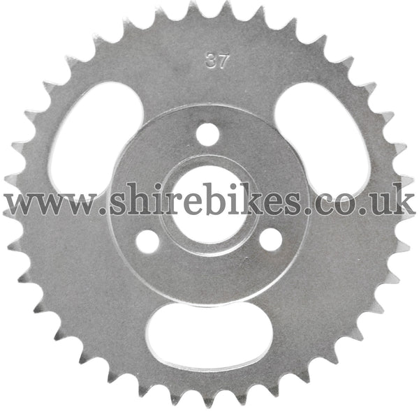 37T Rear Sprocket suitable for use with CZ100, Z50M, Z50A, Z50J1, Z50J, Z50R