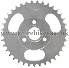37T Rear Sprocket suitable for use with CZ100, Z50M, Z50A, Z50J1, Z50J, Z50R & Chinese Copies