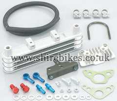Kitaco Super Oil Cooler Kit suitable for use with XR50, CRF50