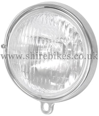 Reproduction 6V Head Light Lens & Rim suitable for use with Z50M, Z50A