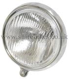 Reproduction 6V Head Light Lens & Rim suitable for use with Dax 6V, Chaly 6V