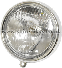 Honda 6V Head Light Lens & Rim suitable for use with Dax 6V, Chaly 6V