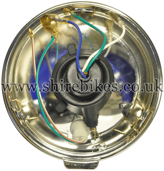 Reproduction Head Light Lens & Rim suitable for use with Dax 12V