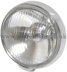 Honda Head Light Lens & Rim suitable for use with Dax 12V