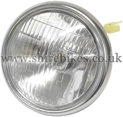 Honda 12V Headlamp Lens & Rim suitable for use with Z50J