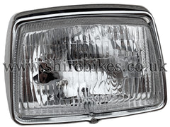 Honda 12V Headlamp Lens & Rim suitable for use with C90E