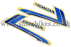 Honda Freddy Spencer Tank Stickers (Pair) suitable for use with Z50J