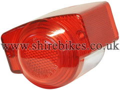 Reproduction Rear Light Lens suitable for use with Z50M, Z50A (UK & General Export Model), Dax 6V ST50 (UK Model)