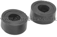Fuel Tank Front Rubbers (Pair) suitable for use with Monkey Bike Motorcycles