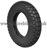 4.00 x 10 IRC TRIALS Off Road Tyre suitable for use with Dax 6V, Dax 12V, Chaly 6V, CT70