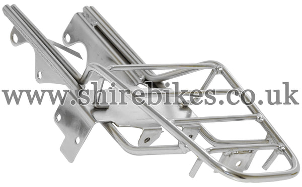 Reproduction Chrome Rear Rack suitable for use with Z50J & Chinese Copies