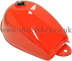 Zhen Hua Red Fuel Tank suitable for use with Monkey Bike Motorcycles