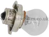 Honda 6V Headlight Single Filament Bulb suitable for use with Z50M, Z50A, CZ100
