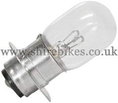 Reproduction 12V Headlight Twin Filament Bulb suitable for use with Z50J 12V, Dax 12V