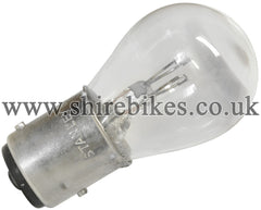 Honda 6V Tail & Brake Light Twin Filament Bulb suitable for use with Z50M, Z50A, Z50J1, Dax 6V, Chaly 6V