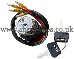 Reproduction 2 Position Ignition Switch (4 Wire) suitable for use with Dax 6V, Chaly 6V