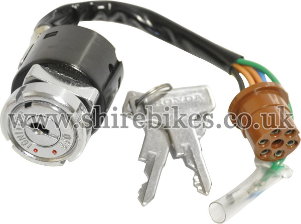 Honda 3 Position Ignition Switch (7 Wire) suitable for use with Dax 6V