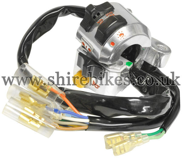 Honda Left Hand Switch Gear suitable for use with Dax 12V