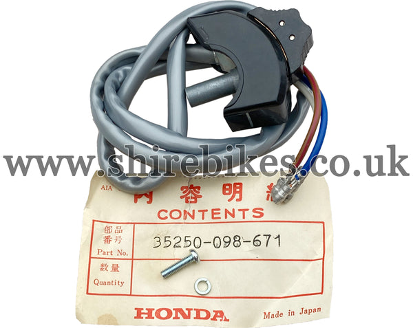 NOS Honda High/Low Dip Switch (Grey Wire) suitable for use with Dax 6V