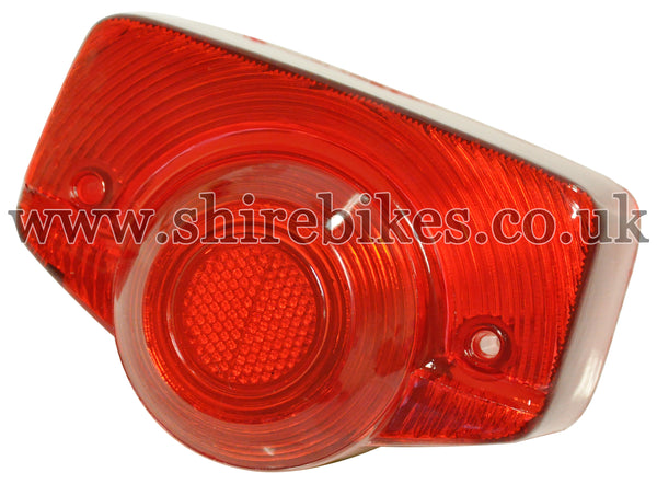 Reproduction Rear Light Lens suitable for use with Dax 6V (UK & Norwegian Model), Chaly 6V (UK & French Model)