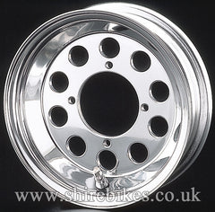 8 x 2.50 Daytona Hole Aluminium Tubeless Wheel suitable for use with Monkey Bike Motorcycles